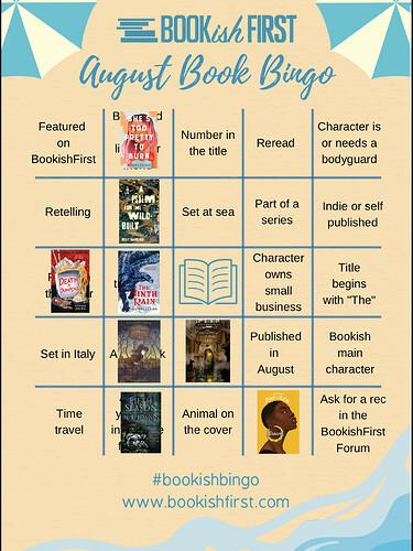 bookishfirst august bingo