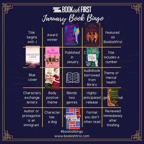 Jan book bingo 1