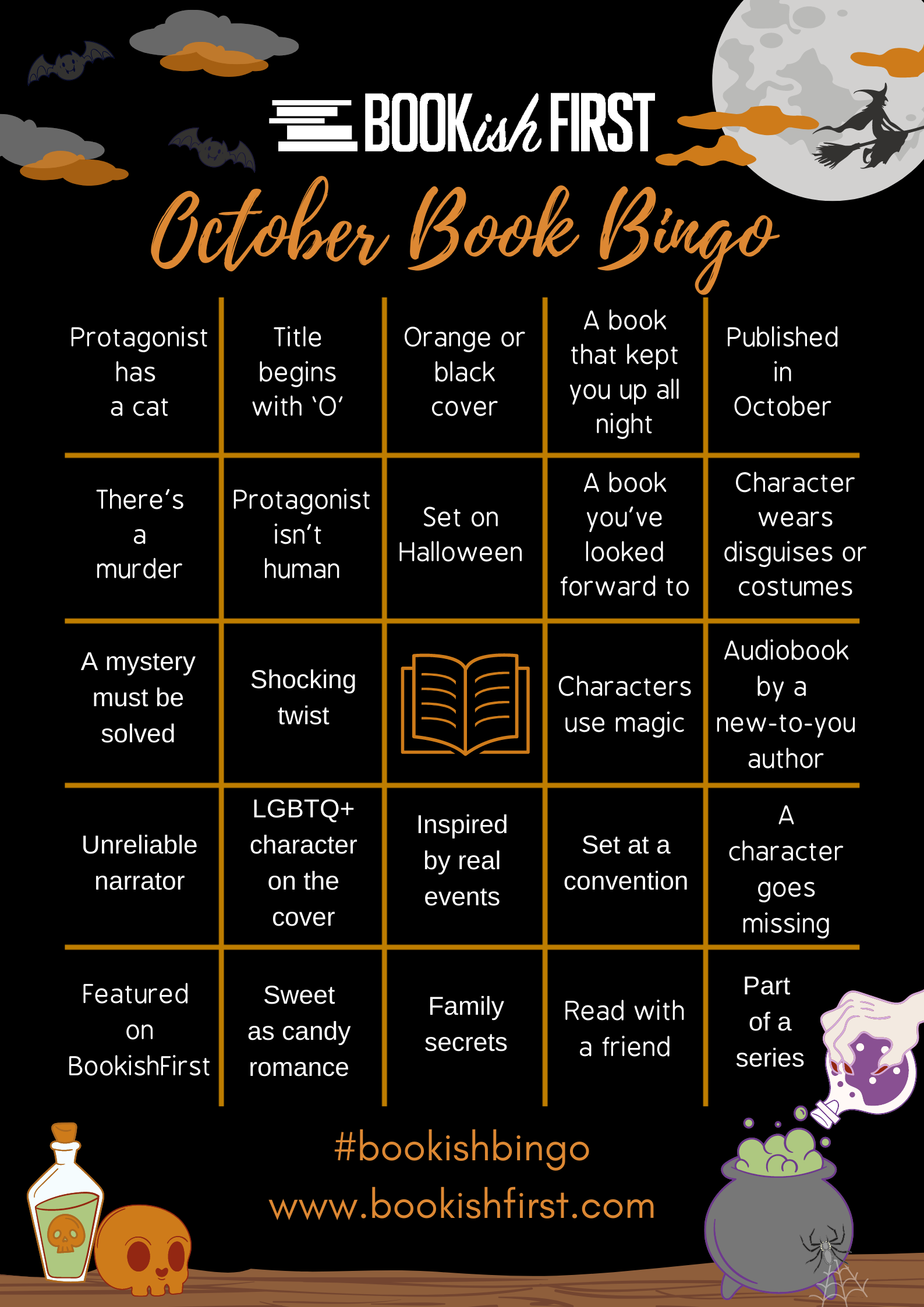 BookishFirst Bingo Boards (12)