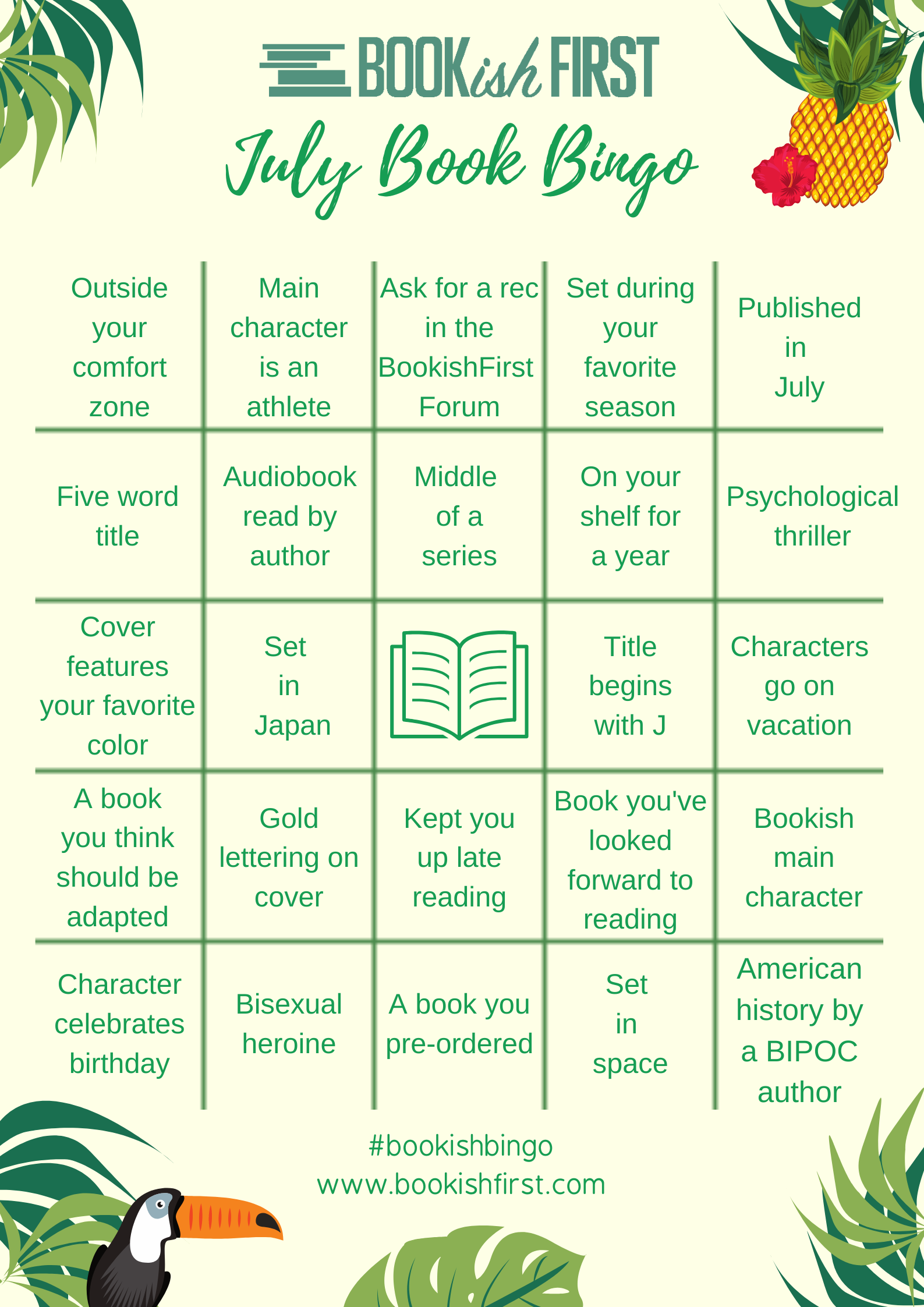 BookishFirst Bingo Boards (8)